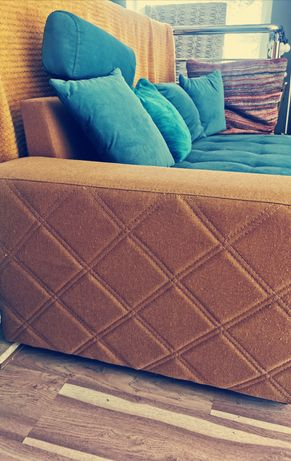Okazja Narożnik duży, sofa, tapczan, kanapa, rogówka