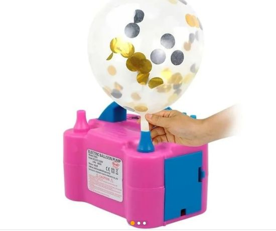 Насос компрессор для воздушных шаров автоматический