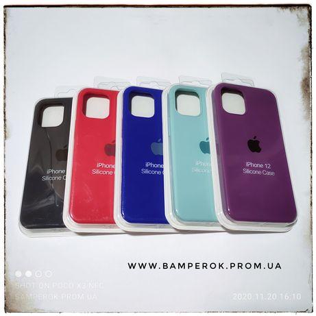 Чехол силикон TOP софт тач айфон iPhone 12 mini / 12 / 12 pro / 12 max