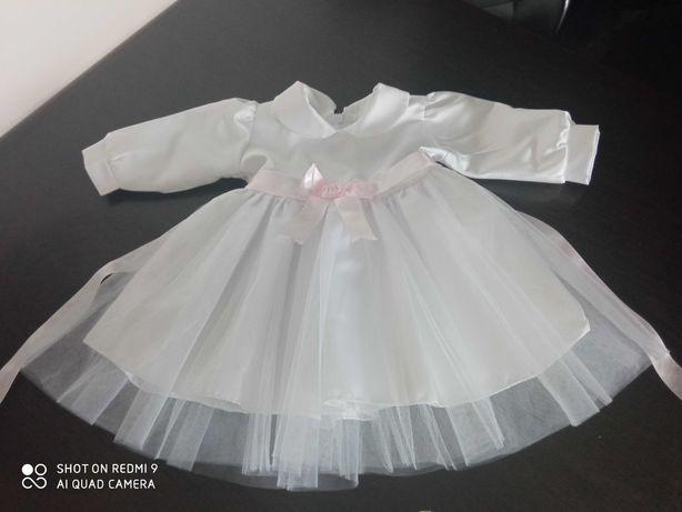 Sukienka do chrztu - rozmiar 68
