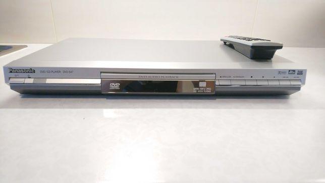Odwarzacz DVD Audio/Video Panasonic Dvd S47