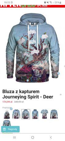 Bluza z kapturem Aloha from deer