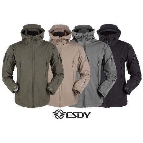 "Куртка Soft Shell ""ESDY - 105 олива"" (куртка нацгвардии тактическая)"