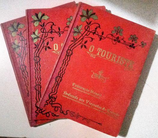 o touriste publicação dedicada aos viajantes de recreio 1910