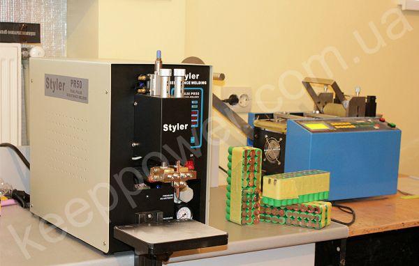 Батарея li-ion аккумулятор изготовление перепаковка