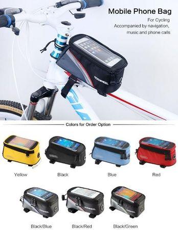 Велосипедная сумка Roswheel велосумка L на раму для велосипеда