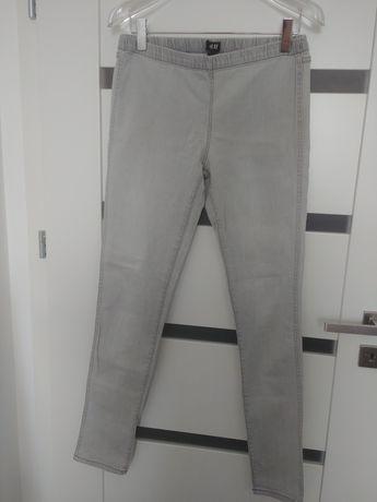Leginsy jeansowe h&m