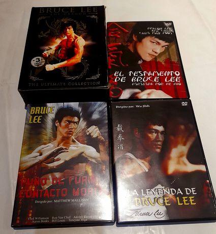 Vendo cx c/3 dvd's Bruce Lee