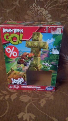 Гра Jenga Angry Birds Go (Hasbro оригінал)