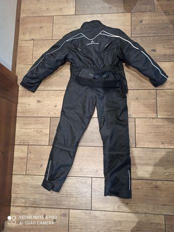 Komplet kurtka i spodnie motocyklowe firmy Adrenaline dziecięce