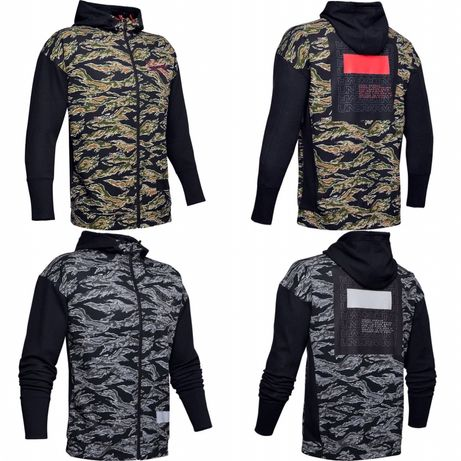Bluza Rozpinana Under Armour Pursuit Camo S M Nowa