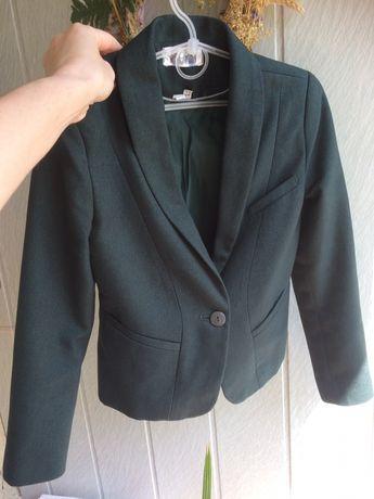 Піджак шкільний темнозелений