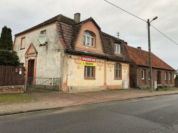 Dom mieszkalno-usługowy w centrum wsi 173 m2