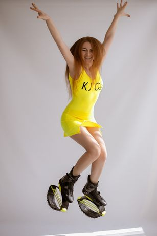 тренування Kangoo Jumps