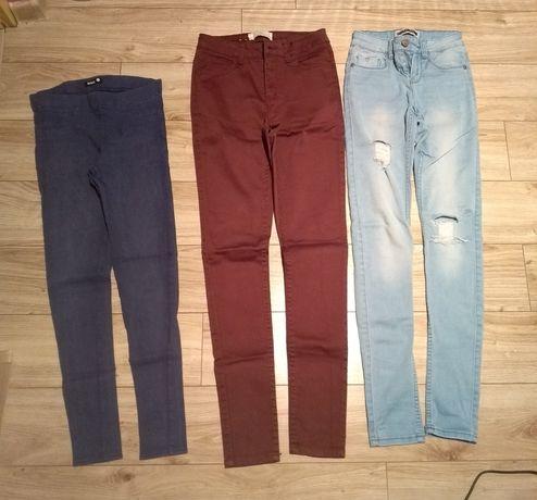 Zestaw 2 pary spodni i getry legginsy