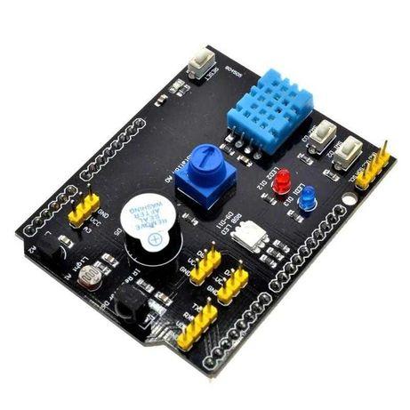 Мультифункциональный шилд DHT-11 LM35  для Arduino UNO и  MEGA2560