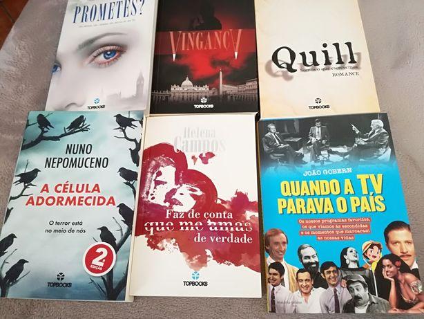Vários livros a 5€