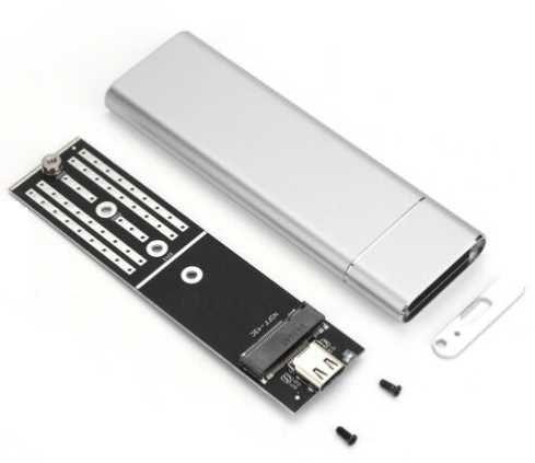 Caixa Disco SSD NGFF M2 - Nova