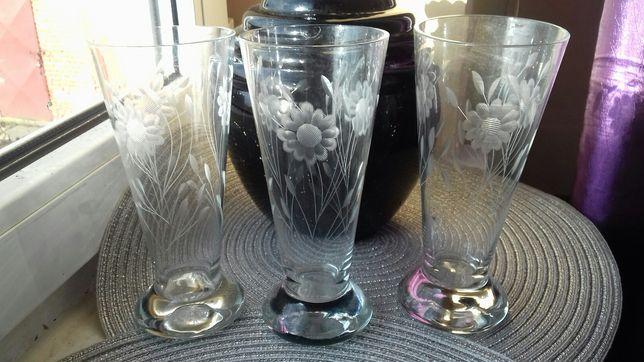 Szklanki/szkło szlifowane