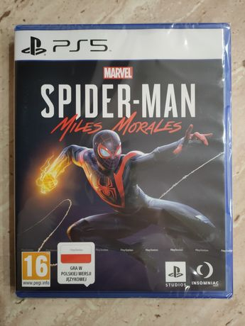 PS5 Spider-Man: Mile's Morales NOWA w folii