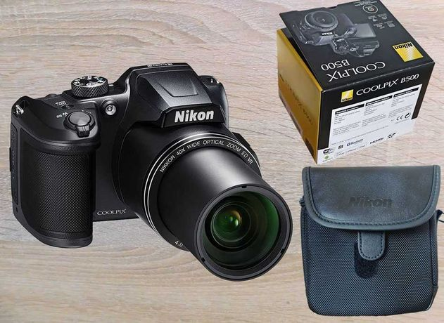 Aparat fotograficzny Nikon Coolpix B500 na gwarancji