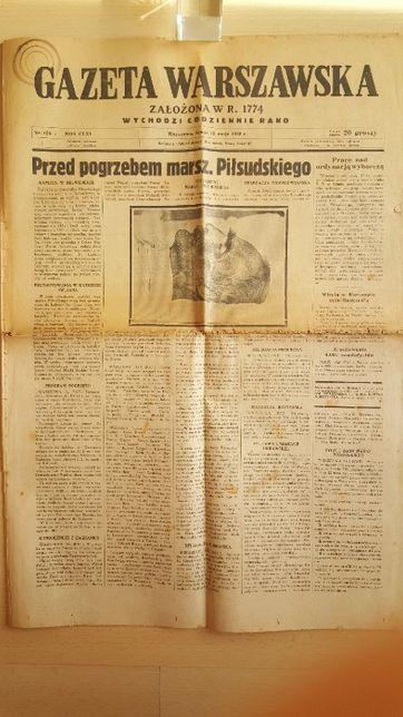 Gazeta Warszawska z dnia 15.05.1935