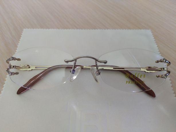 Новая! Красивая фирм элегантная винтовая оправа, очки, окуляри