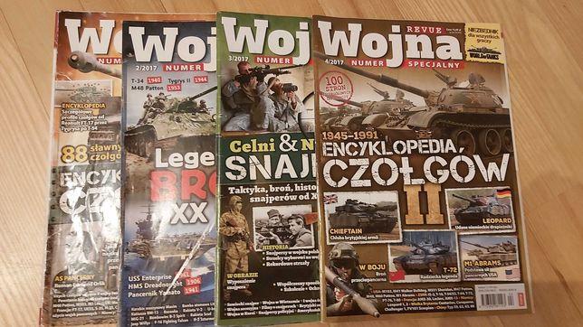 4 zeszyty specjalne wojna revue, czołgi, uzbrojenie