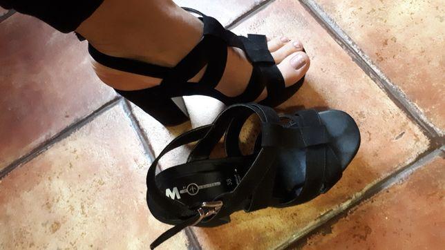 Босоножки туфли юрендовые кожа  m squitos