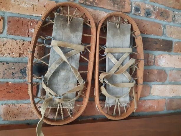 Rakiety śnieżne-stare drewniane 1943r sygnowane