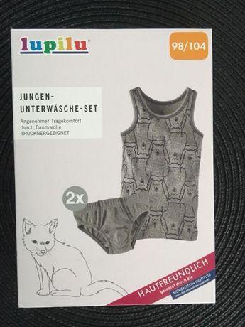 Детский набор белья для мальчика 98/104 Lupilu (Германия)