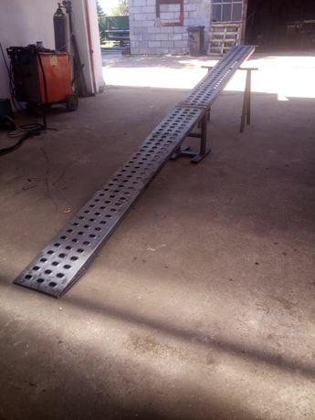 Najazdy podjazdy trapy wjazdowe blacha lohr