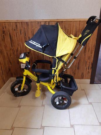 Детский трехколесний велосипед Lamborghini
