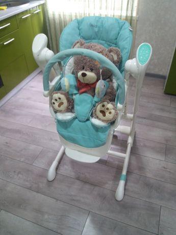 стульчик для кормления 3в1 Миобебби Джаз