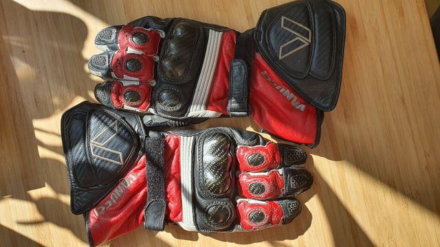 Rękawice motocyklowe sportowe długie Vanucci r. M