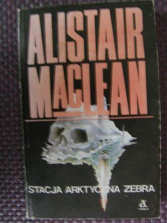 Stacja arktyczna zebra - Alistair Macllean