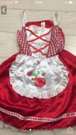 Sukienka przebranie Jaś i Małgosia bawarskie