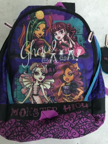 Mochila e Estojo Monster High