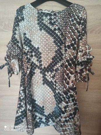 Sukienka skóra węża rozmiar uniwersalny