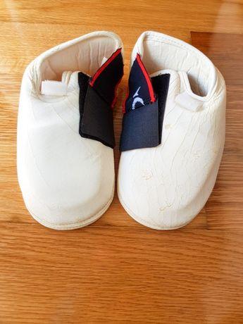 Proteção para pés, Taekwondo