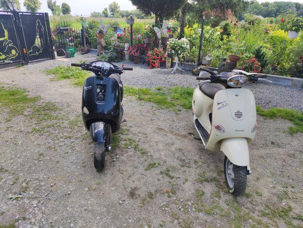 2x Piaggio Vespa ET4 125. PAKIET.