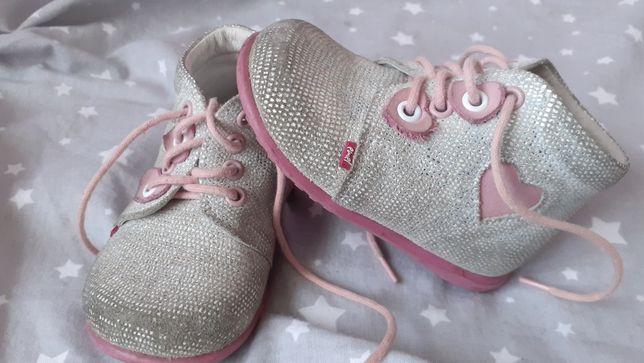 Buciki buty skórzane Emel r.20
