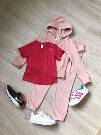 Спортивный костюм Nike Лосины 5-7 лет 110-122 кроссовки Adidas 31-33