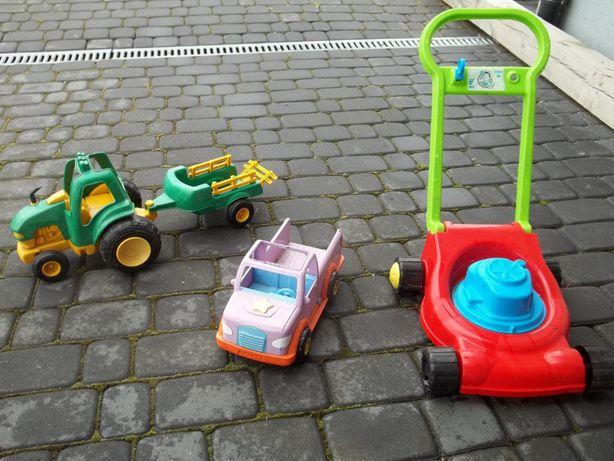 Traktorek samochodzik kosiarka dla dziecka