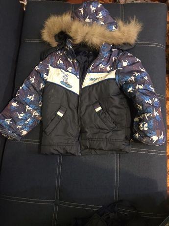 Зимний комбез с курткой