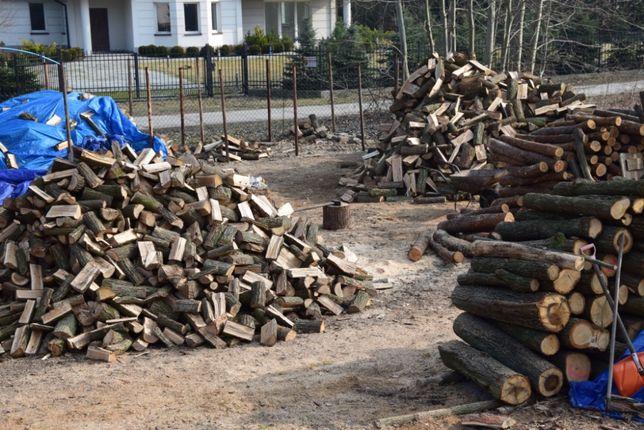 Drewno kominkowe i opałowe mix premium 30cm (grab lub buk, dąb, brzoza