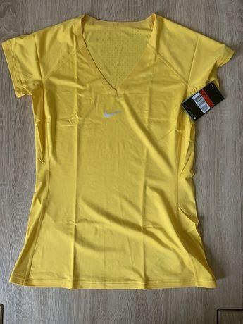 Oryginalna damska koszulka Nike Pro do treningu L