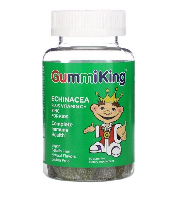 Витамины Gummiking эхинацея+цинк+витамин С Киев - изображение 1