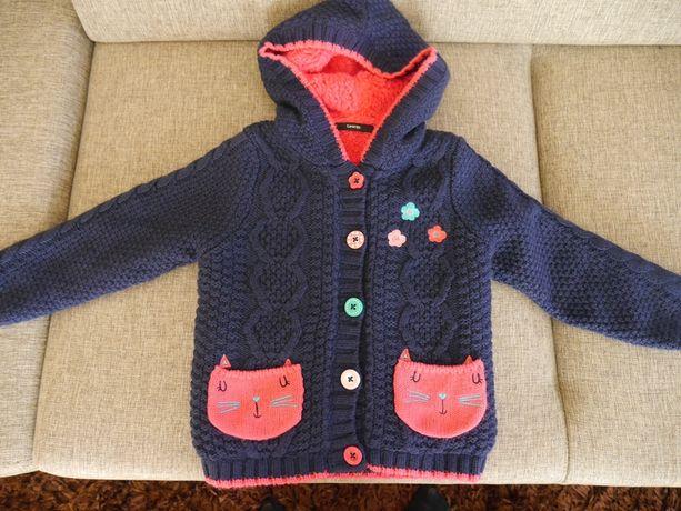 nowy cieply sweter george baby rozm 104