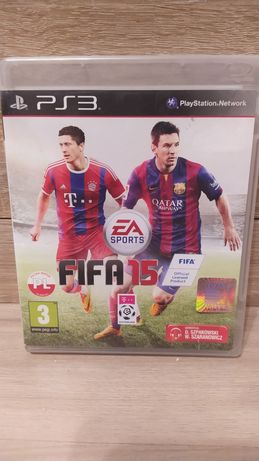 Gra Fifa 2015 Fifa 15 PL j. Polski na konsole ps3 playstation 3.